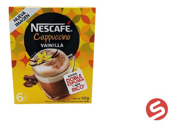 Nescafe Cappuccino Vainilla 6pzs