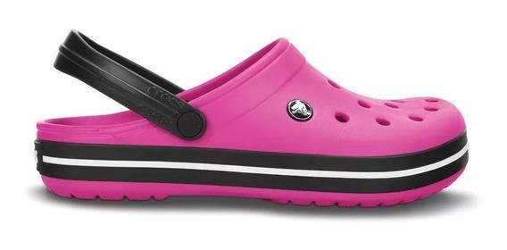 Crocs Originales Crocband Rosas - Mujer