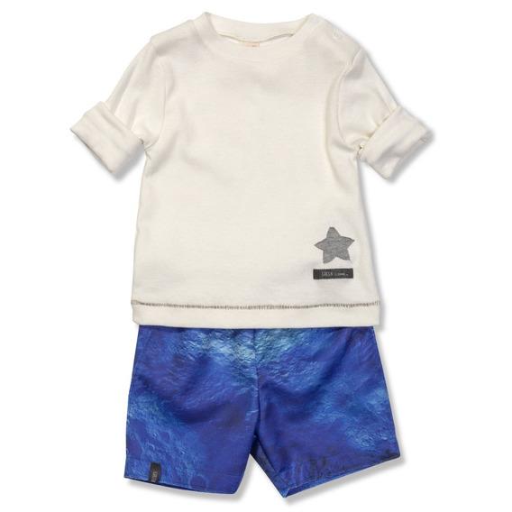 Conjunto Lunar Azul Green - Bebê Menino
