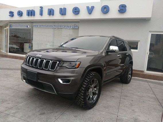 Jeep Grand Cherokee 3.6 Limited Lujo 4x2 Mt 2018