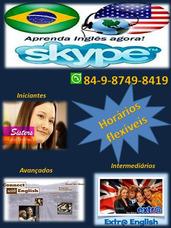 Aulas De Inglês Via Skype!
