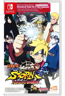 Naruto Ultimate Ninja Storm 4 Road To Boruto Switch Dakmor
