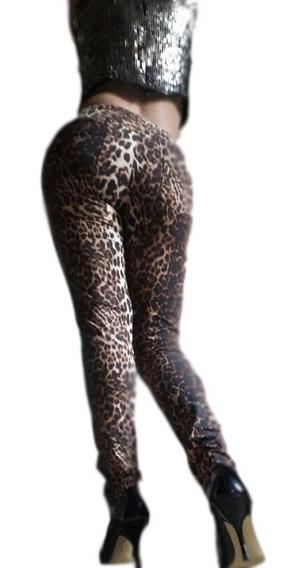 Calza Mujer Animal Print