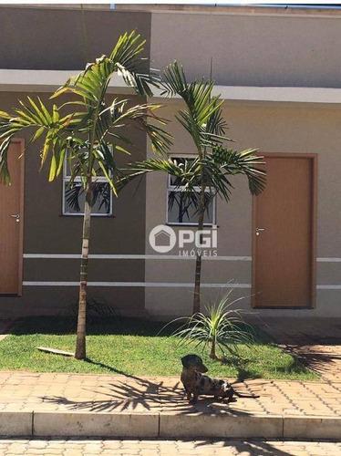 Imagem 1 de 7 de Casa Com 2 Dormitórios Para Alugar, 45 M² Por R$ 1.300,00/mês - Parque São Sebastião - Ribeirão Preto/sp - Ca3008