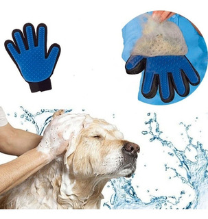 Guante Cepillo Aseo Limpieza Pelo Mascotas Perros Gatos