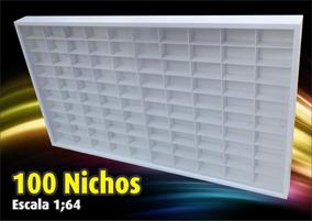 Estante Expositor (100 Nichos) Hot Wheels - Pintura Acrilica
