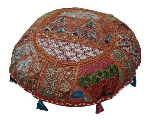 Imagen 1 de 3 de Zafu - Almohadón Para Meditación Redondo 55cm