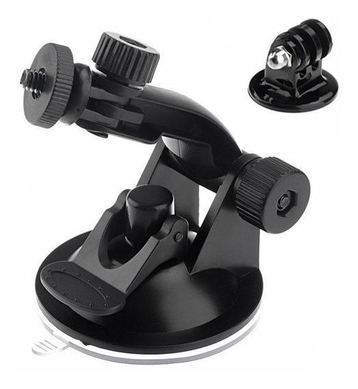 Suporte Ventosa Cameras Digitais E Adap P/ Gopro Xtrax Sjcam