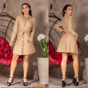 Vestido Feminina Roupas Curtomanga Longa Novo Bengaline