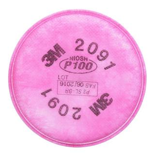 Filtros Para Partículas Hepa 2091 Marca 3m Paq 2 Pzas