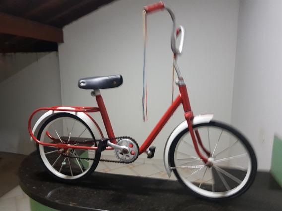 Bicicleta Bandeirantes Pedal Car Velocípede Antiga