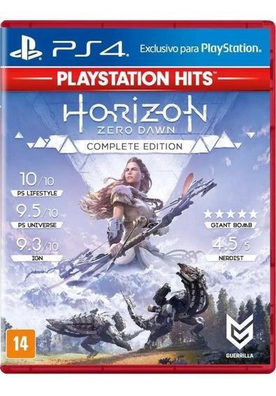 Horizon Zero Dawn Complete Edition Ps4 Midia Física Oferta!