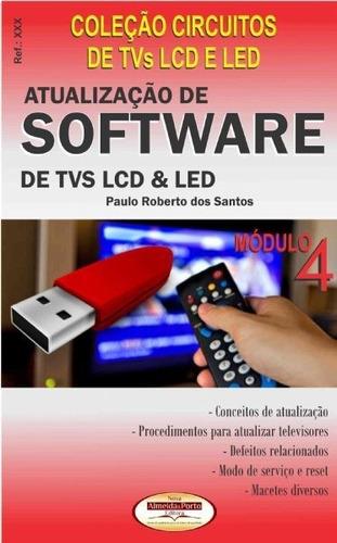 Livro De Atualização De Software De Tvs Lcd E Led - Ref.240