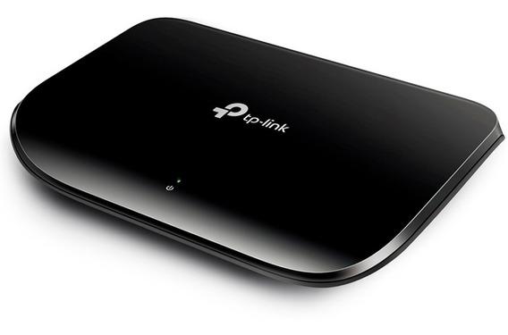 Switch 5 Puertos Tp-link Tl-sg1005d Gigabit 10/100/1000 Full