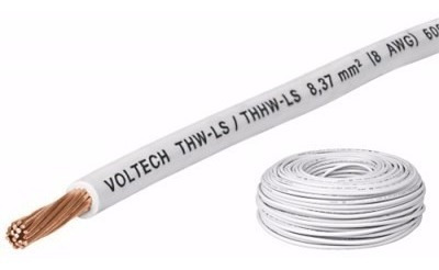 Cable Calibre 12 Awg, Thhw-ls Color Blanco