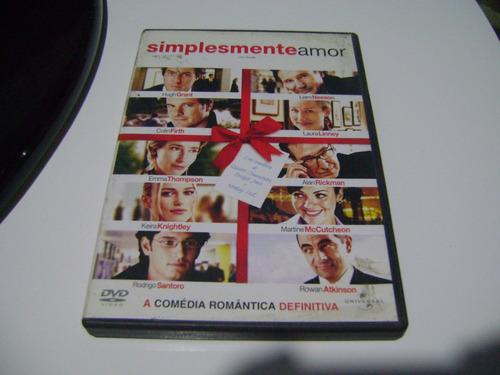Dvd Simplesmente Amor Hugh Grant E.thompson Rodrigo Santoro