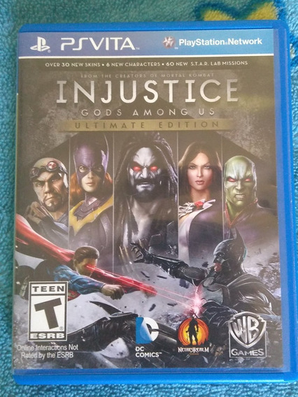 Injustice: Gods Among Us - Ultimate Edition De Ps Vita
