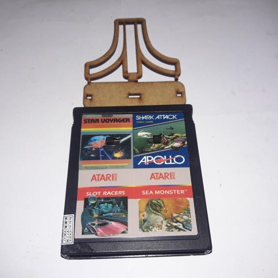 Sea Monster/ Shark Attack/ Slotracer/ Starvoyager Atari 4in1