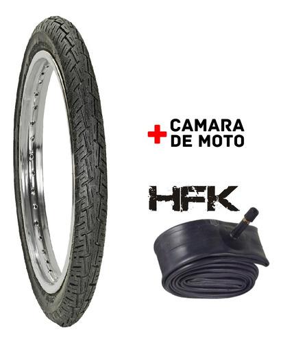Kit Cubierta 90/90-18 F938 Hf  + Camara 300-18 Hfk Reforzada
