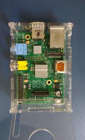 Raspberry Pi 1 Modelo B 512mb Ram Processador 700mhz + Case