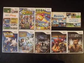 Promoção! Pacote C/ 5 Jogos Originais Wii 150 Frete Grátis