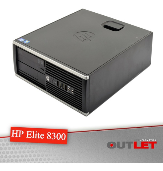 Computador Hp Elite 8300 Sff Core I5 3570 3.40 Ghz 4gb 500gb