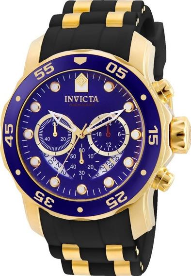 Relógio Invicta Pro Diver Scuba 6983 21929 Banhado Ouro