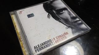 Alejandro Fernández Cd Corazón Abierto Original De Colección