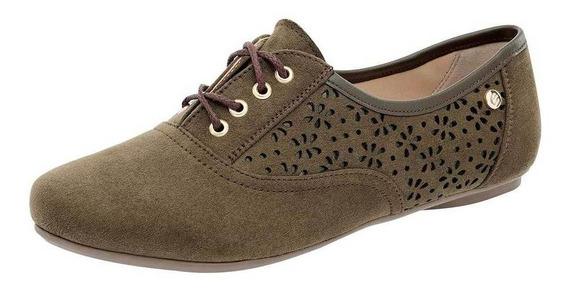 Zapato Etnia 7254 Mujer Talla 22-26 Color Olivo Pk-oi19