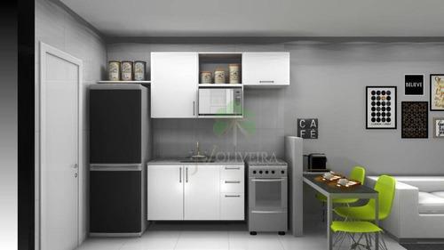 Apartamento Com 1 Dormitório Para Alugar, 28 M² Por R$ 1.500,00/mês - Vila Sônia - São Paulo/sp - Ap2052