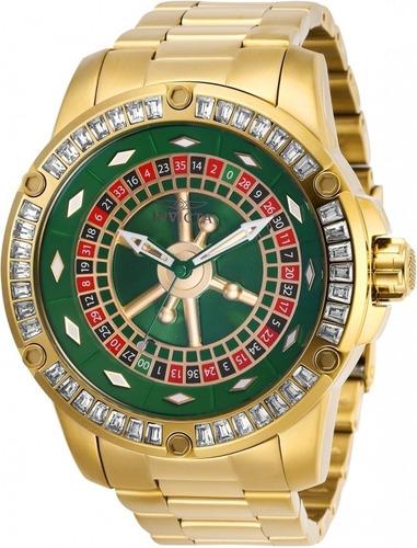 Relógio Invicta Specialty Casino Automático De Cristal-28713