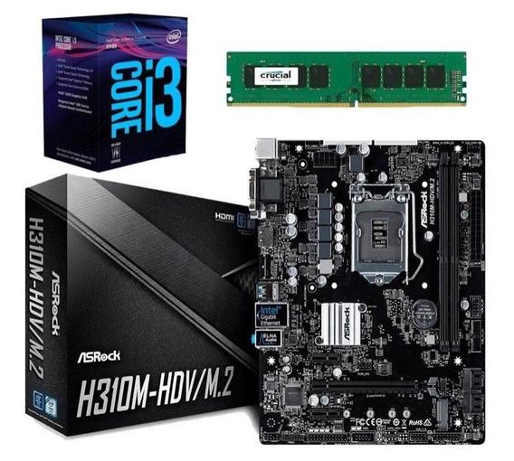 Pc Armada Cpu Intel Core I3 8100 8va Gen; 8gb; 1tb; Hdmi;