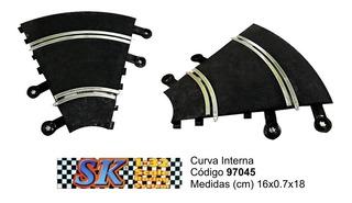 Curva Interna Compatible Scalextric 1/32 Sk 97045