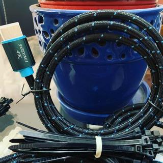 Cable Hdmi 2.0 4k Hdr Trenzado 1.20m Nuevo Excelente Calidad