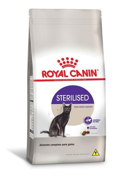 Ração Royal Canin Sterilised Castrados Gatos Adultos 7,5 Kg