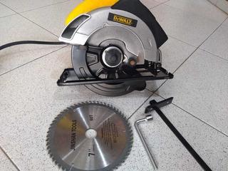 Sierra Circular Dewalt Nueva 7 Pulgadas Con Disco Y Laser