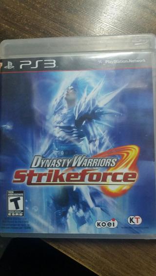 Dynasty Warriors Strikeforce Ps3