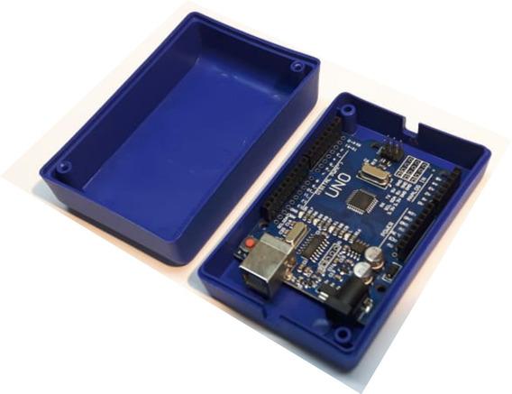 10 X Caixas Plasticas 9,3 X 6,1 X 3,5 Arduino