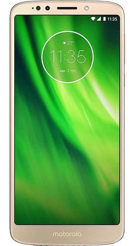 Imagem 1 de 4 de Motorola Moto G6 Play 32gb Usado Ouro Bom