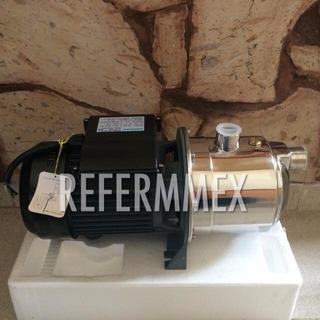 Bomba Jet De Agua Con Automatico Presurizador 1hp Acero Inox
