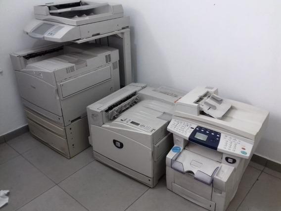 Lote De Máquinas Copiadora E Impressora Xerox E Lexmark.