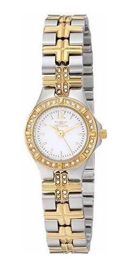 Relógio Feminino Invicta Windflower Inoxidável. E-674