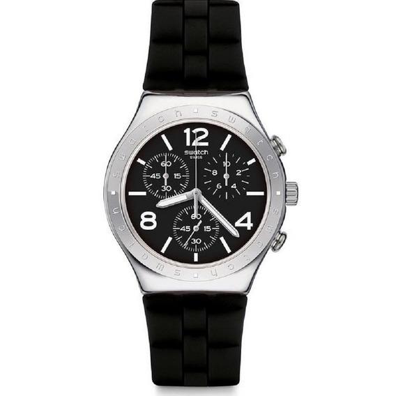 Relógio Swatch Noir De Bienne - Ycs116