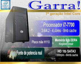 Computador Garra - I7-7700 8gb 1tb