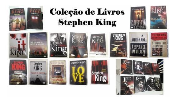 Coleção De Livros Stephen King