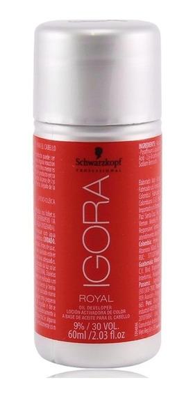 Schwarzkopf Igora Royal 9% Oxidante 30 Volumes 60ml