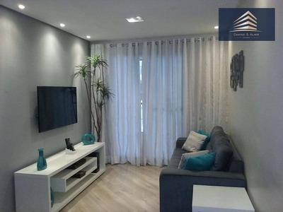 Apartamento No Condomínio Essence, 83m², 3 Dormitórios, 1 Suíte, 2 Vagas, Aceita Permuta. - Ap0247