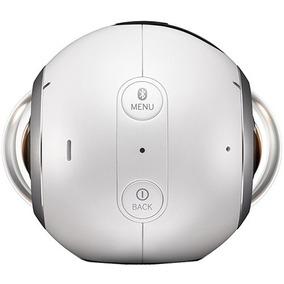 Samsung Filmadora Digital Vr Gear 360º Smc200nzwaxar + 128gb