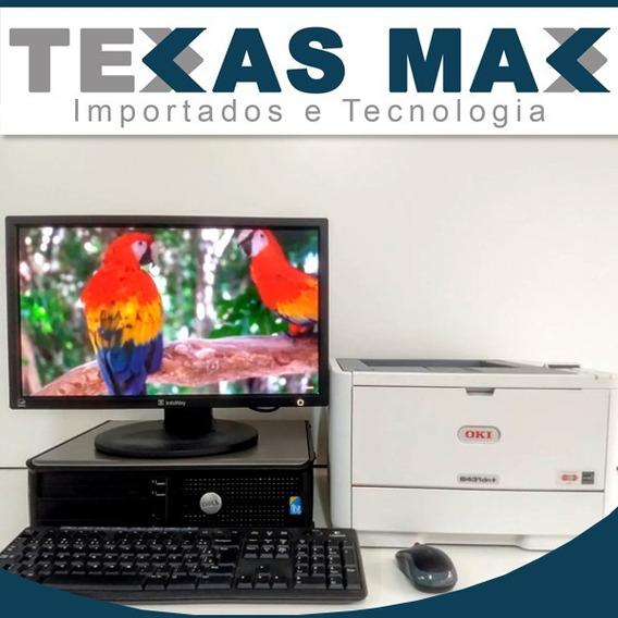 Lote 10 Kits Computador Dell 2gb Hd 80+impressora Vl Unitari