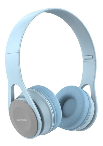 Fone Telefunken Tf-h300 Azul Claro Headphone